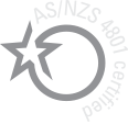 AS/NZS 4801 certified