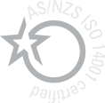 AS/NZS ISO 14001 certified